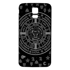 Witchcraft Symbols  Samsung Galaxy S5 Back Case (white)