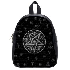 Witchcraft symbols  School Bags (Small)