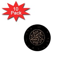 Witchcraft symbols  1  Mini Buttons (10 pack)