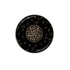 Witchcraft symbols  Hat Clip Ball Marker (10 pack)
