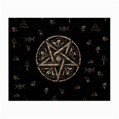 Witchcraft symbols  Small Glasses Cloth (2-Side)