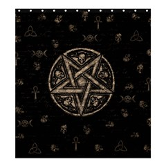 Witchcraft symbols  Shower Curtain 66  x 72  (Large)