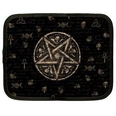 Witchcraft Symbols  Netbook Case (xl)
