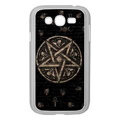 Witchcraft symbols  Samsung Galaxy Grand DUOS I9082 Case (White)