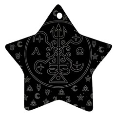 Witchcraft symbols  Ornament (Star)