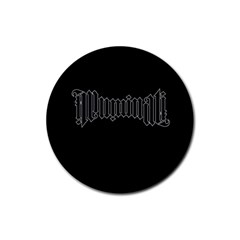 Illuminati Rubber Round Coaster (4 pack)