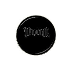 Illuminati Hat Clip Ball Marker (4 pack)