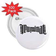 Illuminati 2.25  Buttons (100 pack)