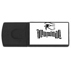 Illuminati USB Flash Drive Rectangular (4 GB)