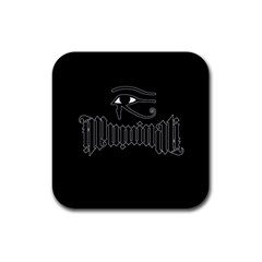 Illuminati Rubber Square Coaster (4 pack)