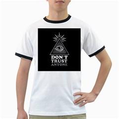 Illuminati Ringer T-Shirts