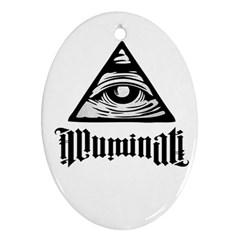 Illuminati Ornament (Oval)