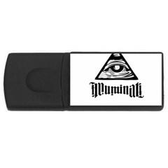 Illuminati USB Flash Drive Rectangular (1 GB)