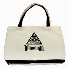 Illuminati Basic Tote Bag