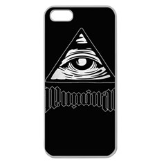 Illuminati Apple Seamless iPhone 5 Case (Clear)