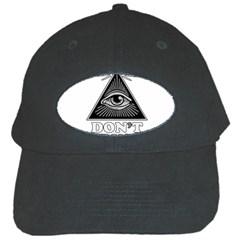 Illuminati Black Cap