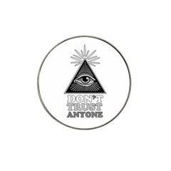Illuminati Hat Clip Ball Marker (4 pack)