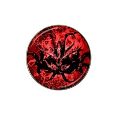 Scary Background Hat Clip Ball Marker