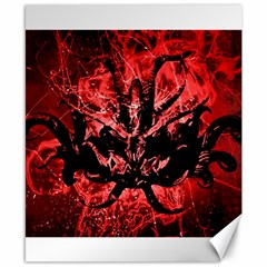 Scary Background Canvas 8  x 10