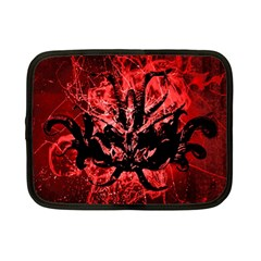 Scary Background Netbook Case (Small)