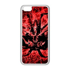 Scary Background Apple iPhone 5C Seamless Case (White)