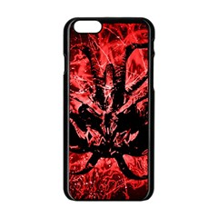 Scary Background Apple iPhone 6/6S Black Enamel Case