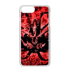 Scary Background Apple Iphone 7 Plus White Seamless Case