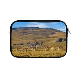 Group Of Vicunas At Patagonian Landscape, Argentina Apple Macbook Pro 13  Zipper Case