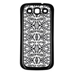 APE KEY Samsung Galaxy S3 Back Case (Black)