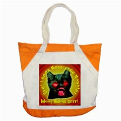 Ere! I Seen Menacuddle Monster Accent Tote Bag