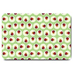 Ladybugs Pattern Large Doormat