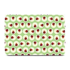 Ladybugs Pattern Plate Mats