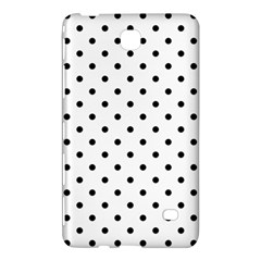 Classic Large Black Polkadot on White Samsung Galaxy Tab 4 (7 ) Hardshell Case