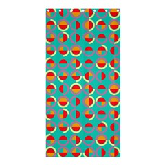Semicircles And Arcs Pattern Shower Curtain 36  x 72  (Stall)
