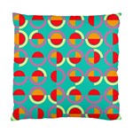 Semicircles And Arcs Pattern Standard Cushion Case (One Side) Front