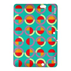 Semicircles And Arcs Pattern Kindle Fire HDX 8.9  Hardshell Case