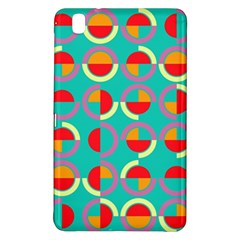Semicircles And Arcs Pattern Samsung Galaxy Tab Pro 8.4 Hardshell Case