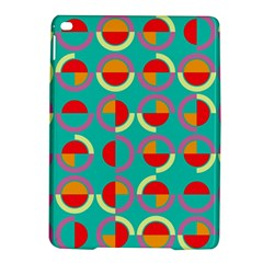 Semicircles And Arcs Pattern iPad Air 2 Hardshell Cases