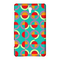 Semicircles And Arcs Pattern Samsung Galaxy Tab S (8.4 ) Hardshell Case