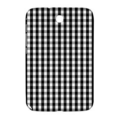 Small Black White Gingham Checked Square Pattern Samsung Galaxy Note 8.0 N5100 Hardshell Case