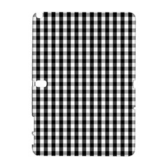 Small Black White Gingham Checked Square Pattern Galaxy Note 1