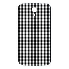 Small Black White Gingham Checked Square Pattern Samsung Galaxy Mega I9200 Hardshell Back Case
