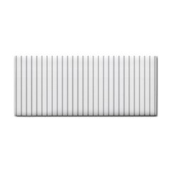 Dove Grey Pin Stripes on White Cosmetic Storage Cases