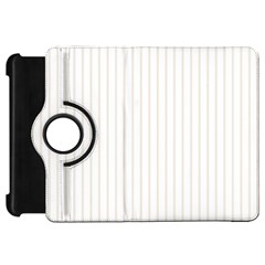 Classic Cream Pin Stripes on White Kindle Fire HD 7