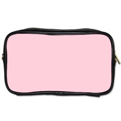 Light Soft Pastel Pink Solid Color Toiletries Bags