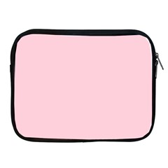 Light Soft Pastel Pink Solid Color Apple iPad 2/3/4 Zipper Cases