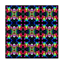 Colorful Bright Seamless Flower Pattern Face Towel