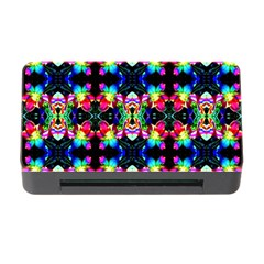 Colorful Bright Seamless Flower Pattern Memory Card Reader with CF