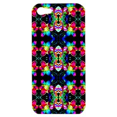 Colorful Bright Seamless Flower Pattern Apple iPhone 5 Hardshell Case
