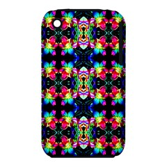 Colorful Bright Seamless Flower Pattern iPhone 3S/3GS